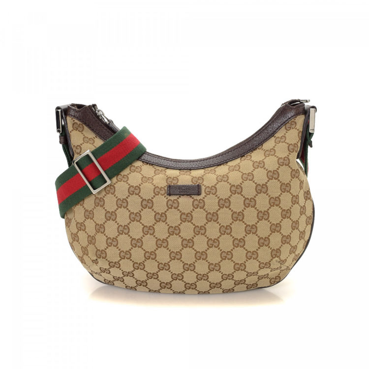 2eec1bb0322253 The authenticity of this vintage Gucci Web Crossbody Bag messenger & crossbody  bag is guaranteed by LXRandCo. Crafted in gg canvas, this iconic crossbody  ...