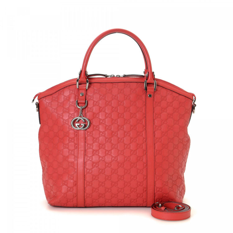 4f49a4c321aab4 This product is in store at Century 21 Edition. LXRandCo guarantees this is  an authentic vintage Gucci Two Way Bag tote.