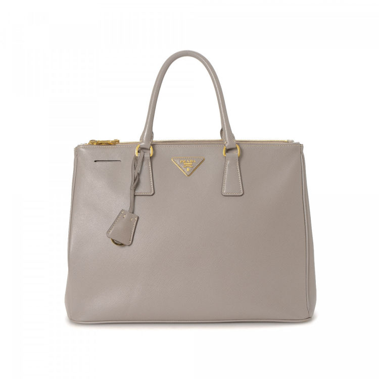 990f168d26da Prada Galleria Double Zip Tote Large Saffiano Lux Leather - LXRandCo ...