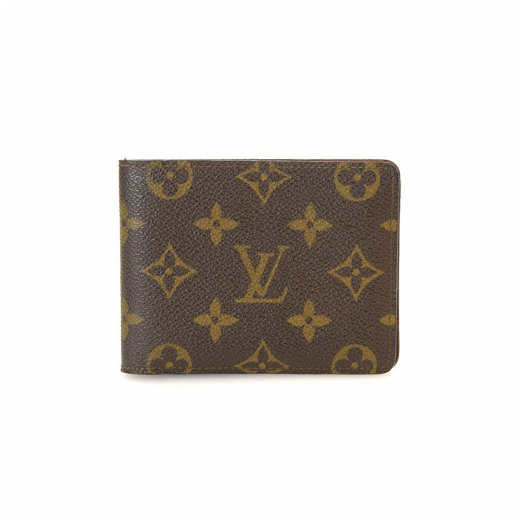 d697bad6d850 LXRandCo guarantees this is an authentic vintage Louis Vuitton Multiple  wallet. This elegant wallet in brown is made in monogram coated canvas.