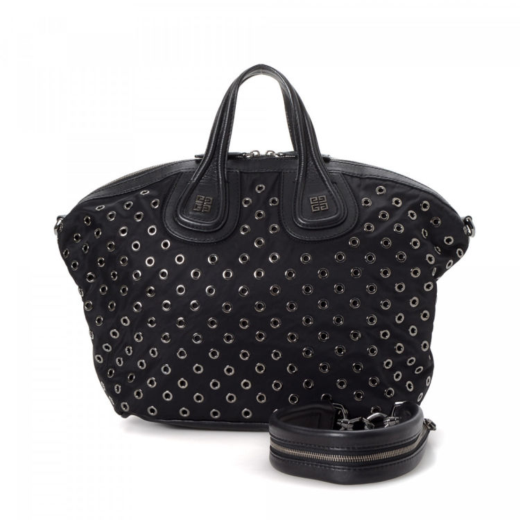 ca91869843 This product is in store at Hudson's Bay Toronto. LXRandCo guarantees this  is an authentic vintage Givenchy Nightingale tote. This sophisticated tote  bag ...