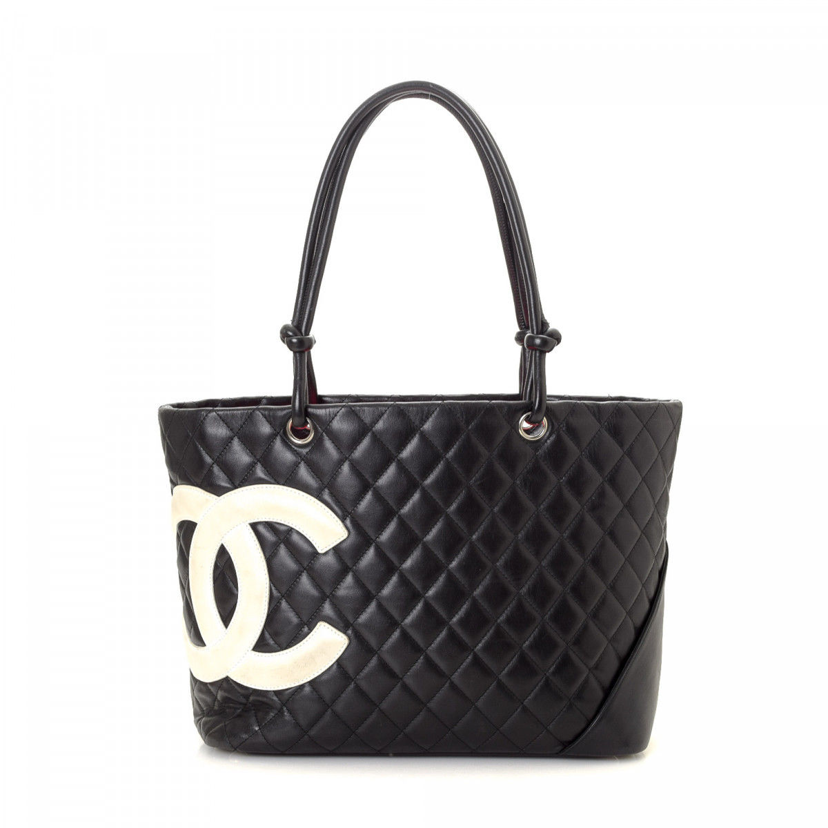 495e831337676c Chanel Cambon Ligne Tote Leather - LXRandCo - Pre-Owned Luxury Vintage