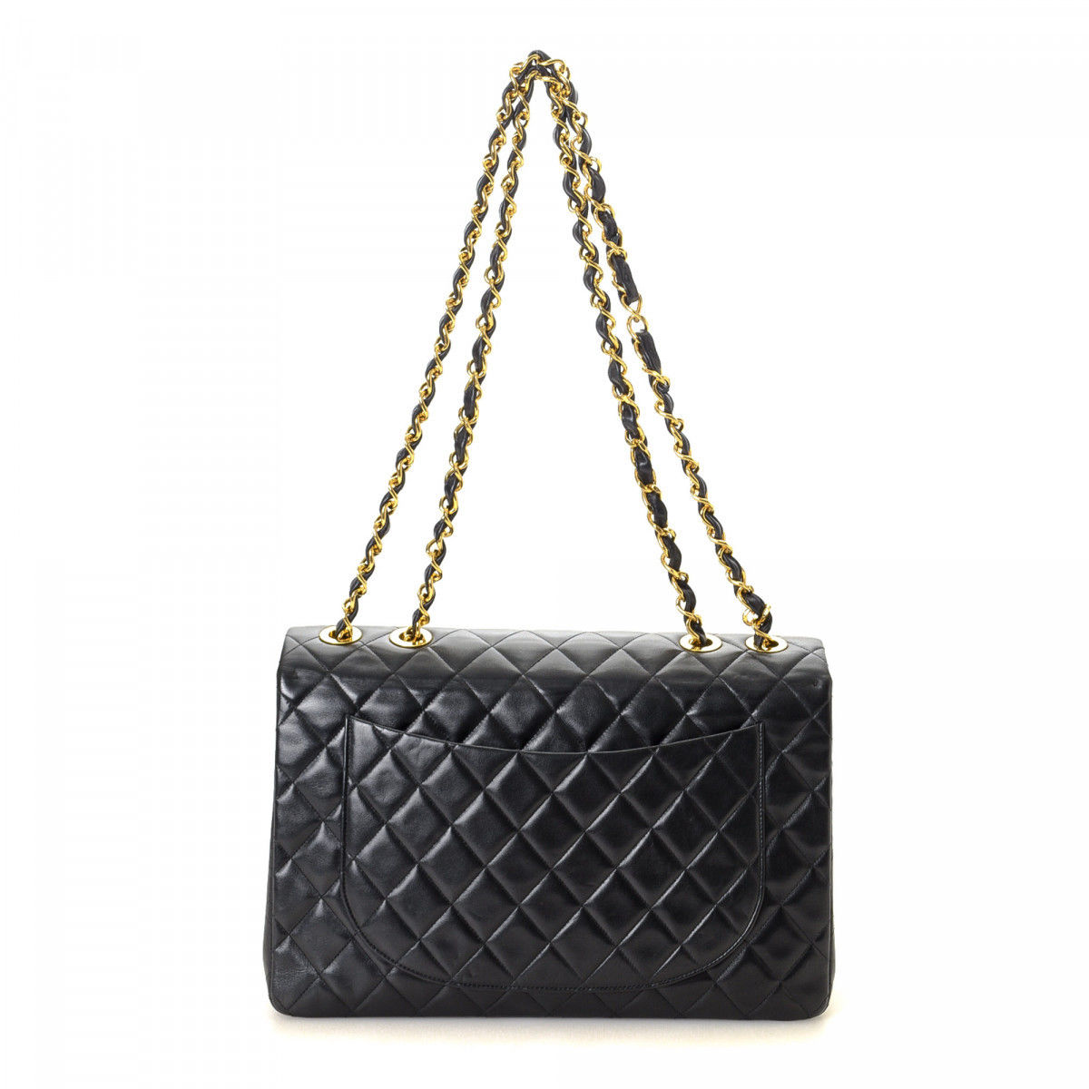 df60b98901be Chanel Maxi Classic Flap Lambskin - LXRandCo - Pre-Owned Luxury Vintage