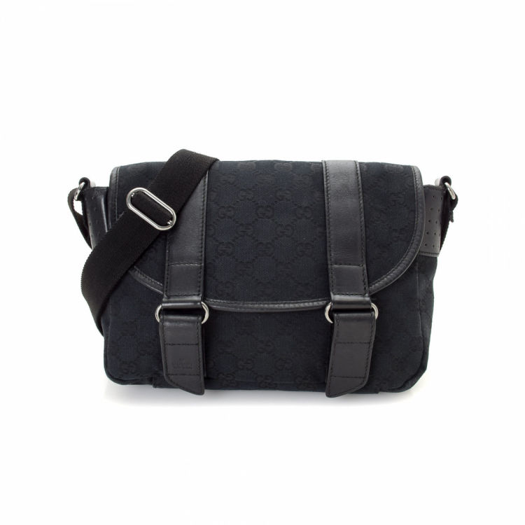 22e167654f43 Gucci GG Canvas Messenger Bag GG Canvas - LXRandCo - Pre-Owned ...