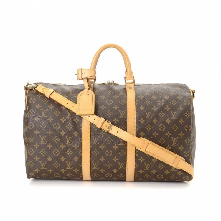 6645b627559d Louis Vuitton Keepall 50 Bandoulière Monogram Coated Canvas ...