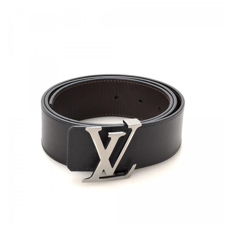 Louis Vuitton Reversible Belt Two-Tone Leather Belts